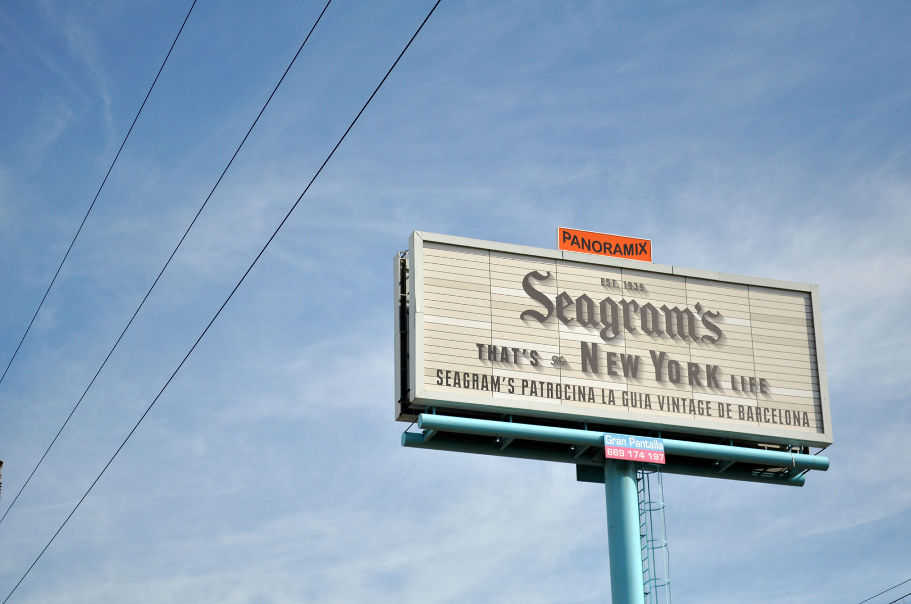 seagram's | barcelona | @sundisa_impresion
