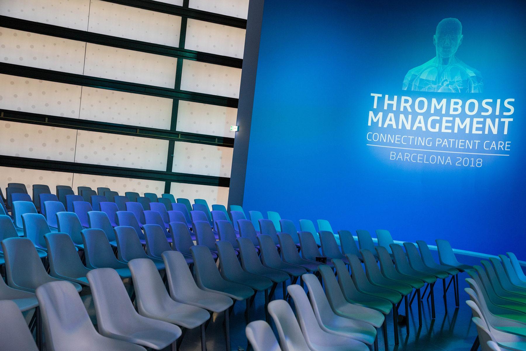 thrombosis management | palau de congressos de catalunya | @sundisa_impresion